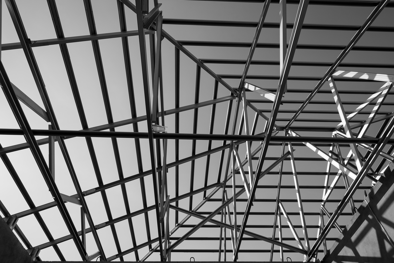 bigstock-Structure-Of-Steel-Roof-Frame--258247984